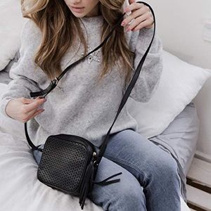NWT Summer & Rose Delilah Black Crossbody Bag